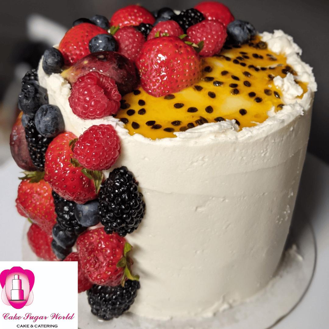 Passion Berry Cake