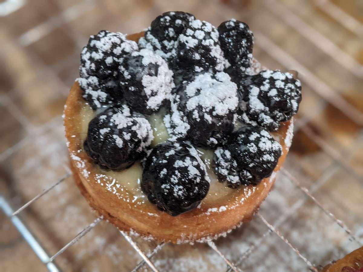 """4"""" Blackberry Tartlet"""