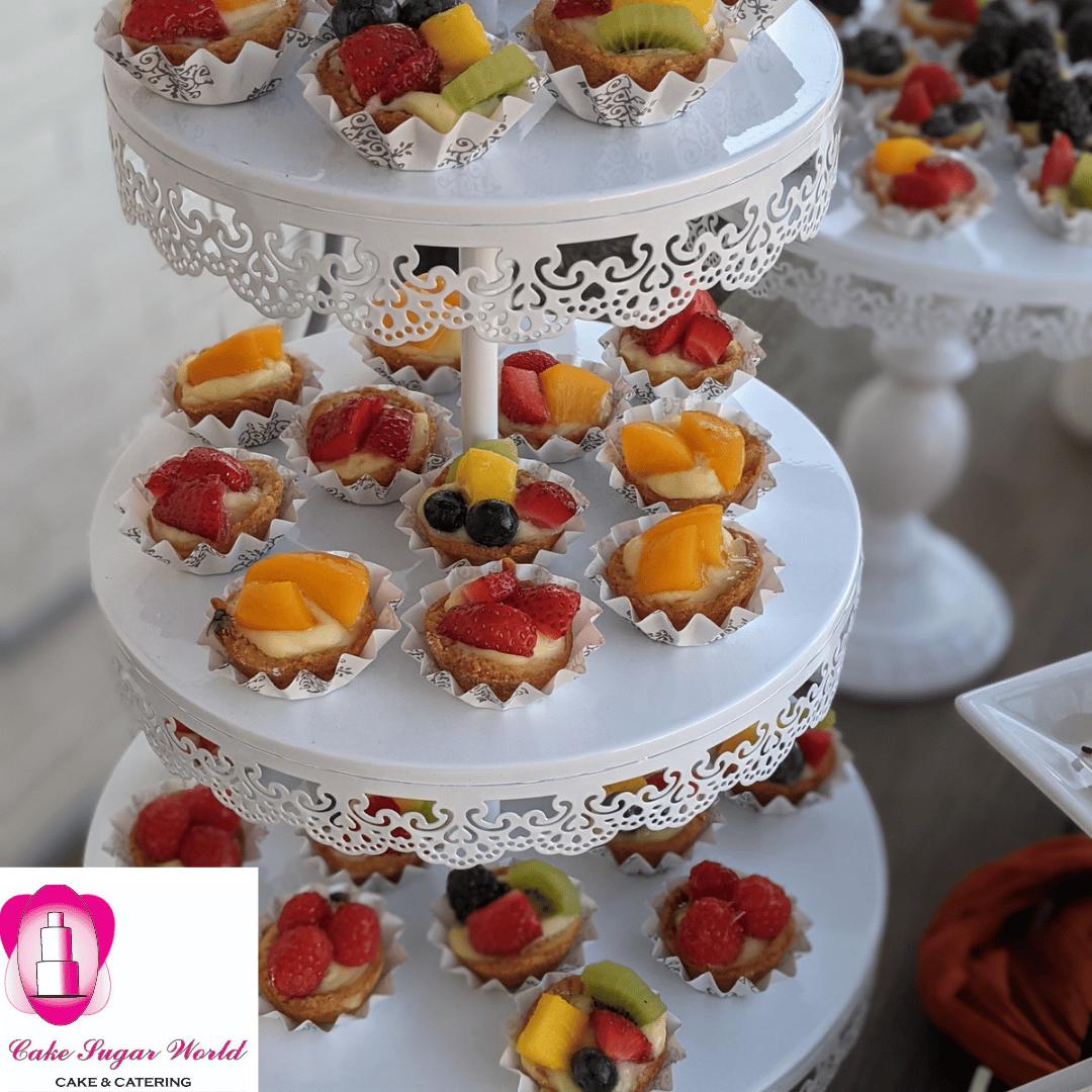 Mini mini Fruit Tartlets
