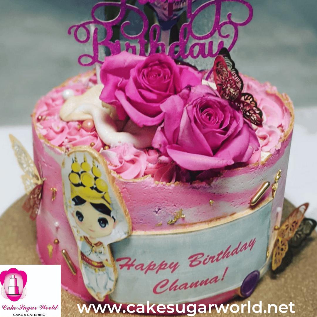 Gluten- Free Artistic Cake