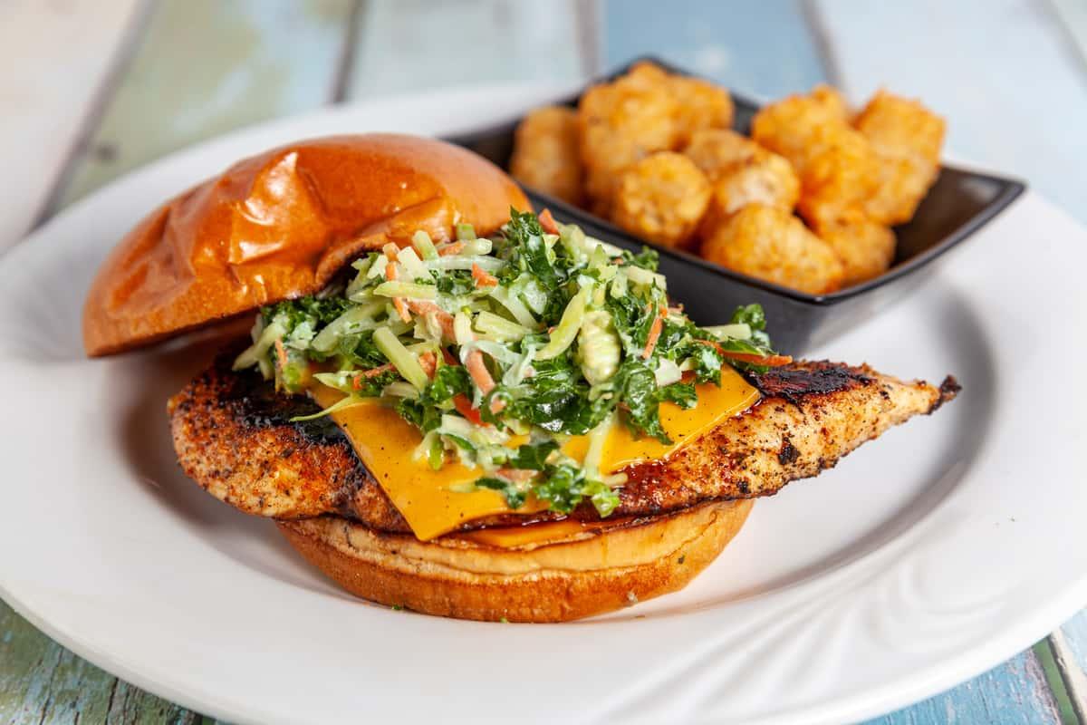 Tiki Chicken Sandwich