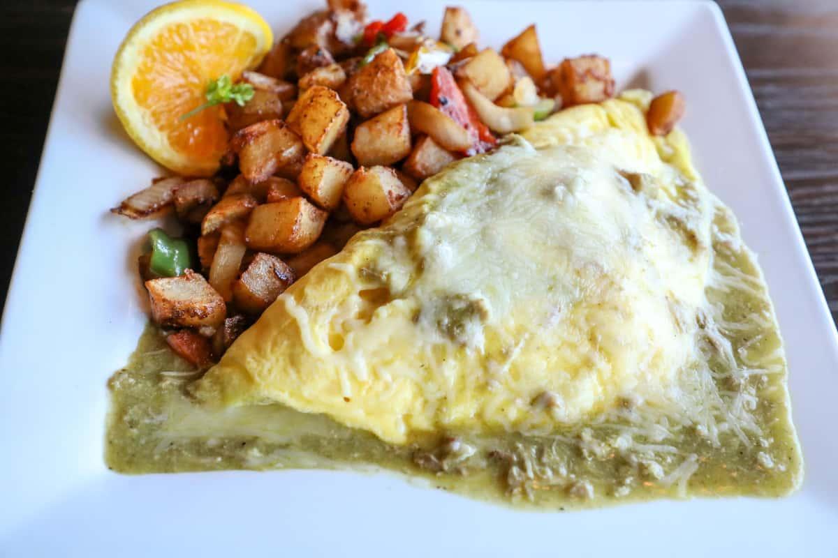 Don Perico Verde Omelette