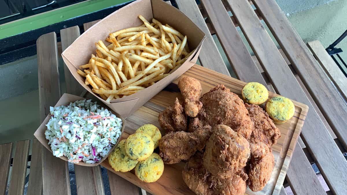 4 piece Fried Chicken