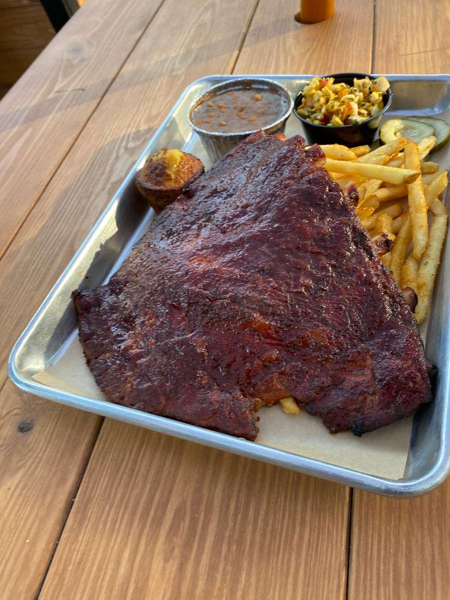 St Louis Smoked BBQ Ribs