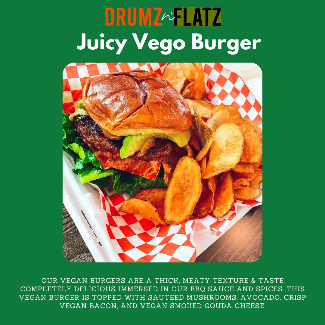Juicy Vego Burger (v)
