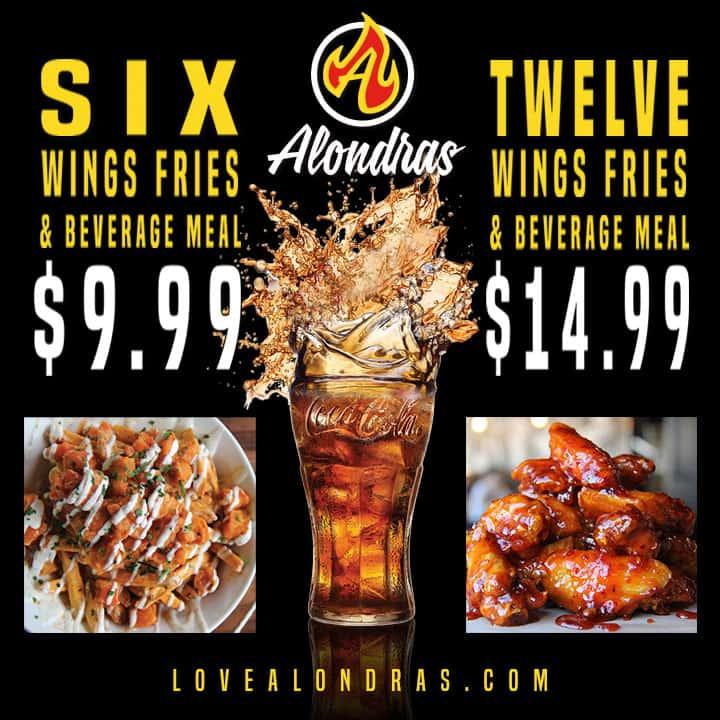 Wings Meal