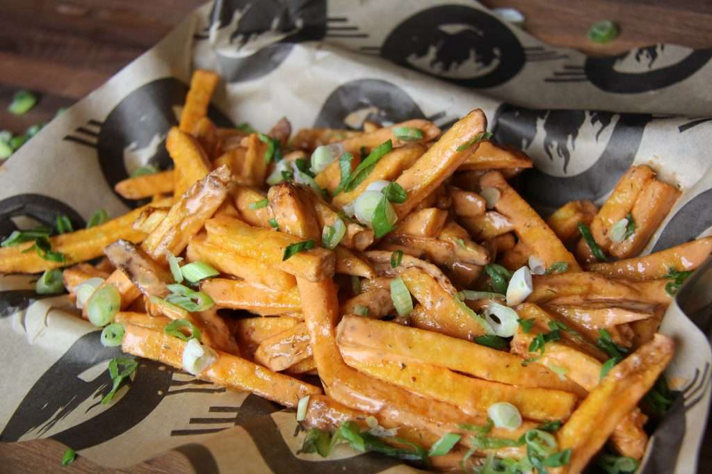 Chicken Ranch Blasted Fries