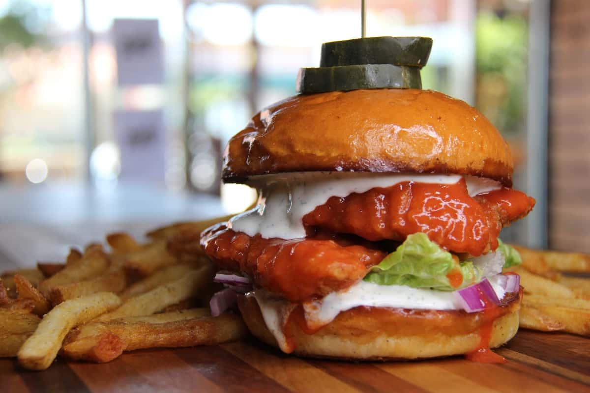 Buffalo Ranch Sandwich