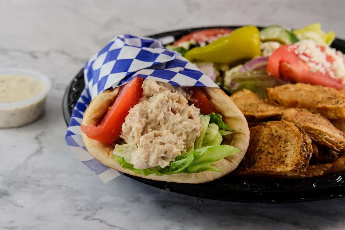 Tuna Wrap Plate