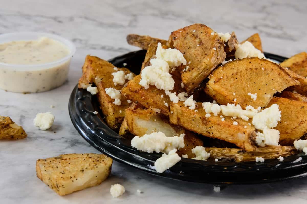 Feta Potatoes