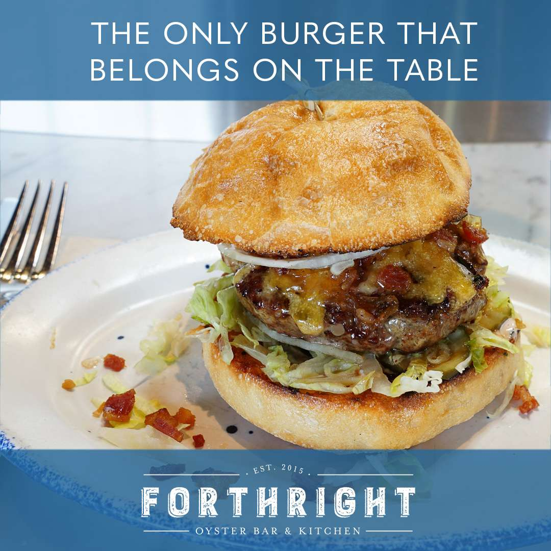 The Only Burger That Belongs on the Table*