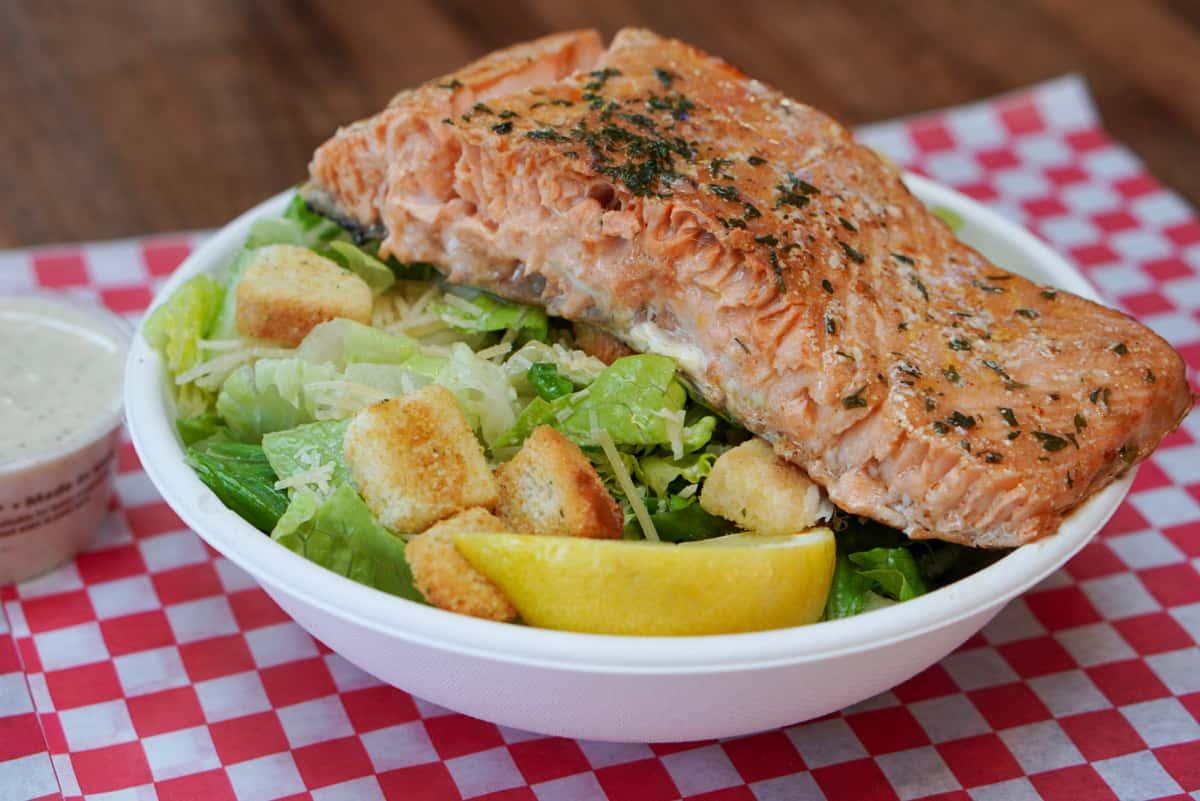 Smoked Salmon Caesar