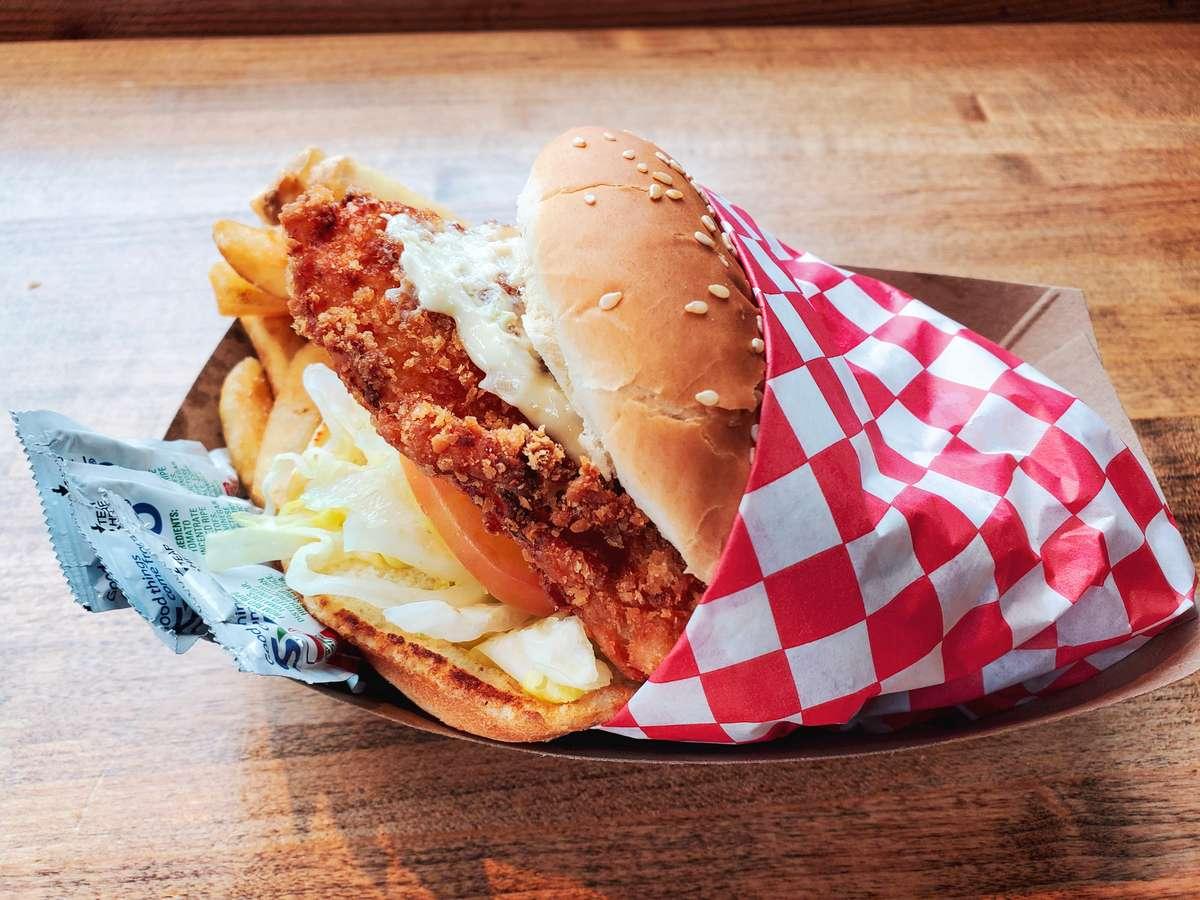 Crispy Halibut Sandwich