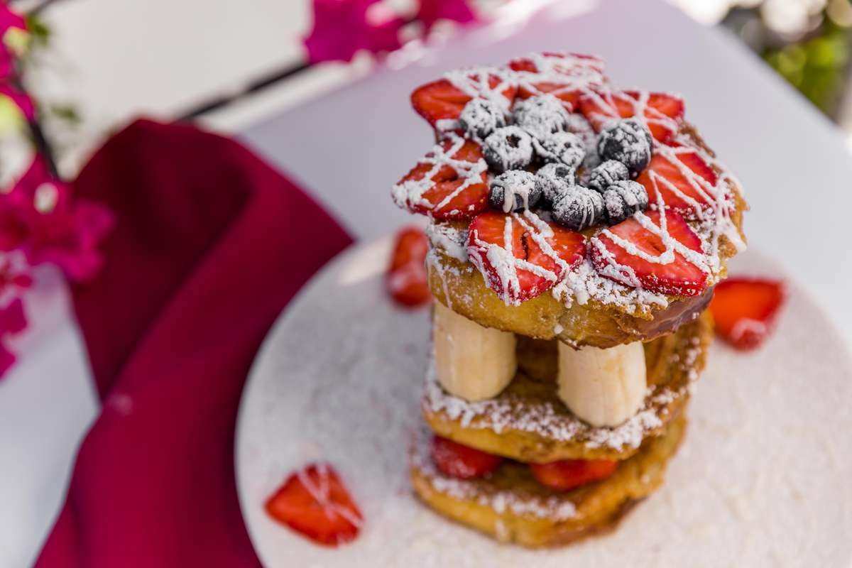 Towering French Toast