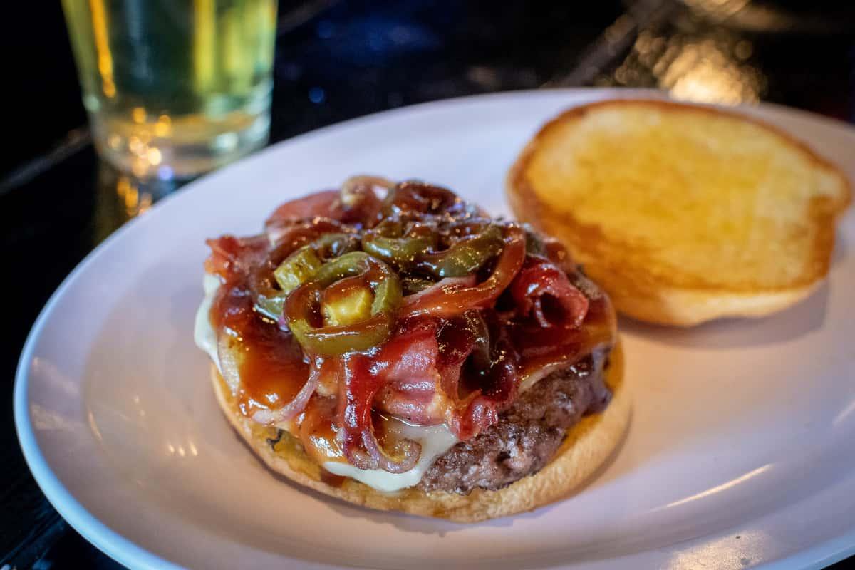 Smoky Jalapeno Burger