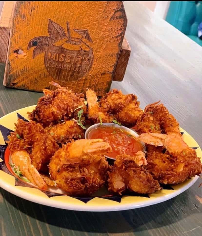 Plantain Coconut Shrimp