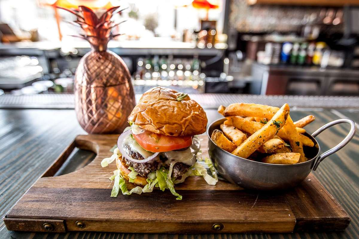 Coconut Club Burger