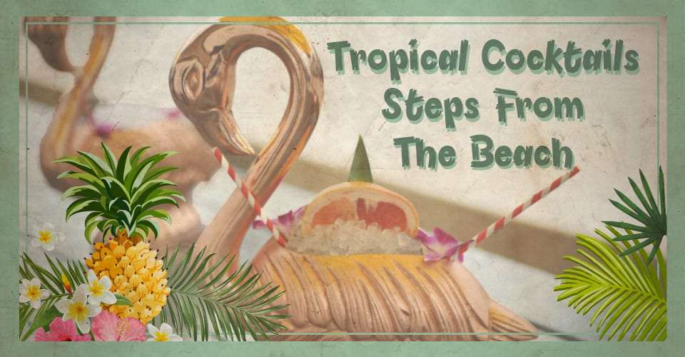 Tropical Cocktails flyer