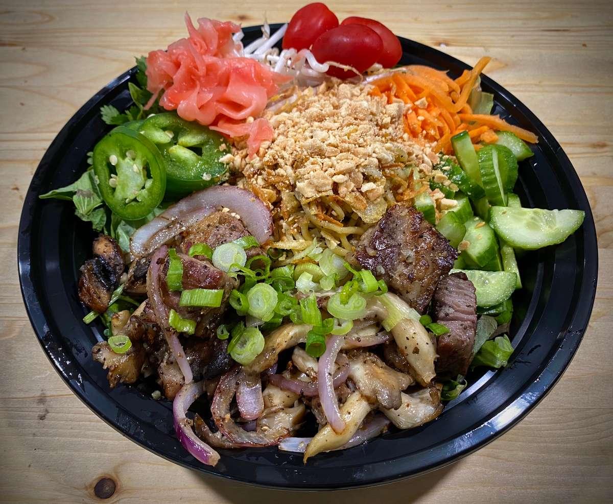Prime Ribeye Steak Bowl