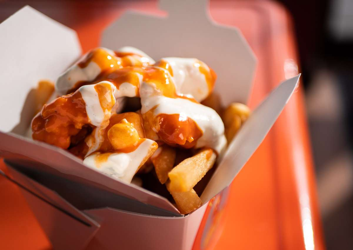 Cluckin Hot Mess Fries