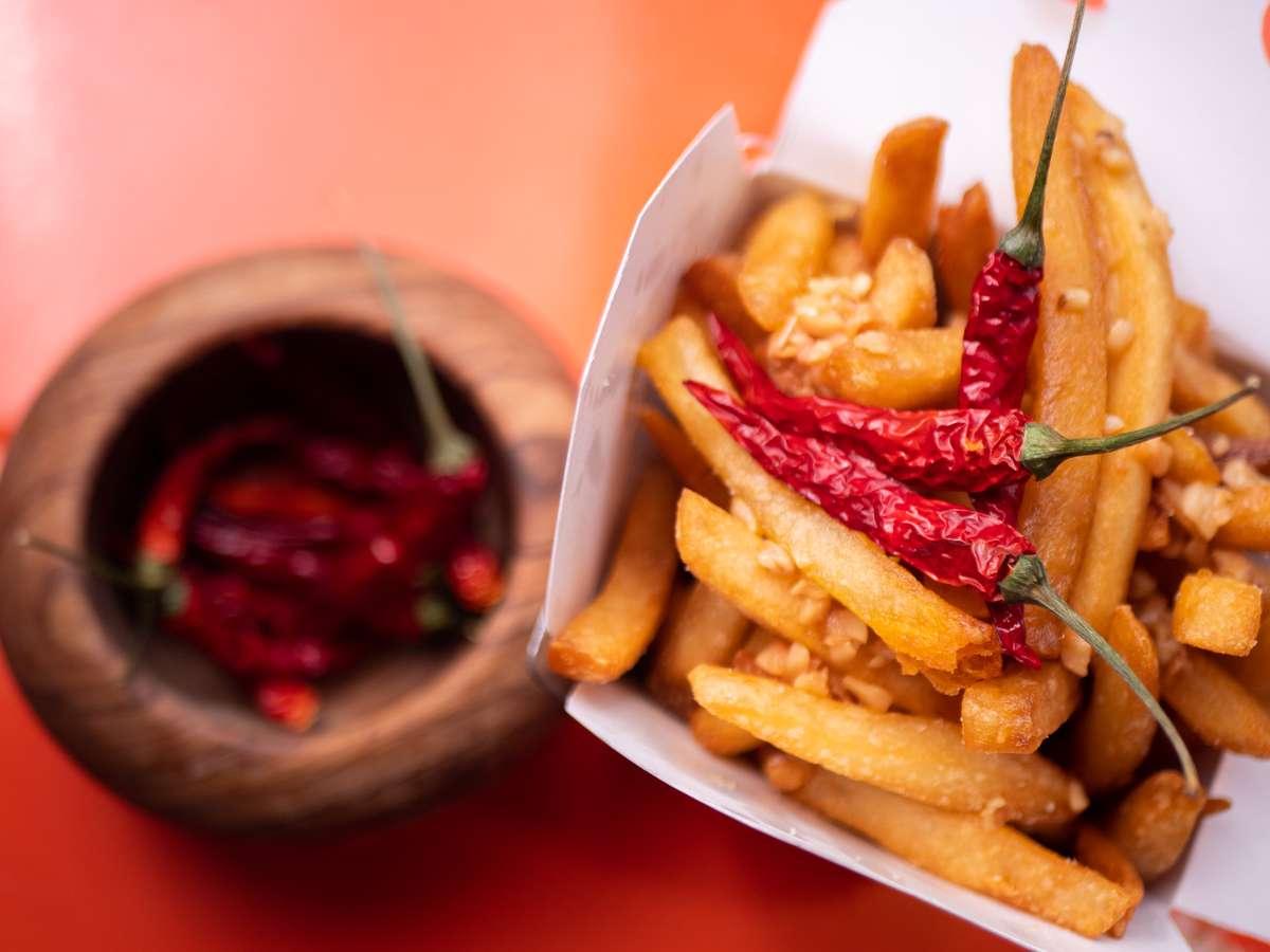 CBD oil fries
