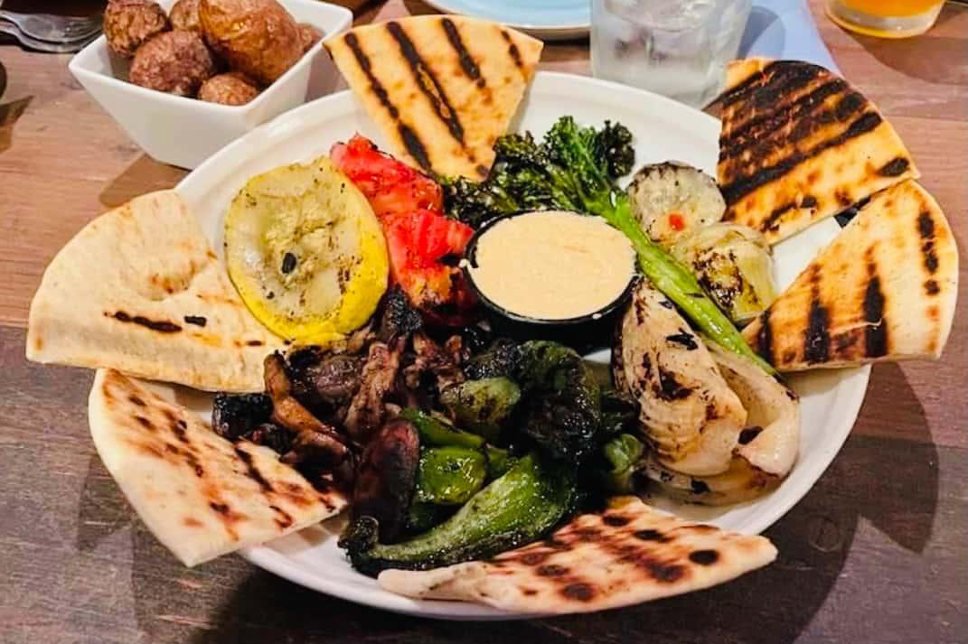 AJ's Grilled Veggie Platter