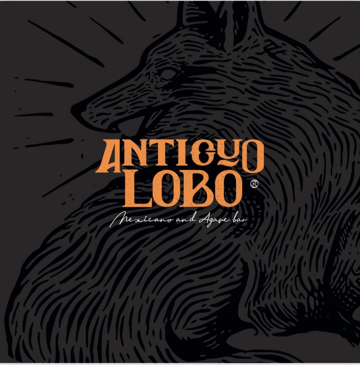 Black lobo logo