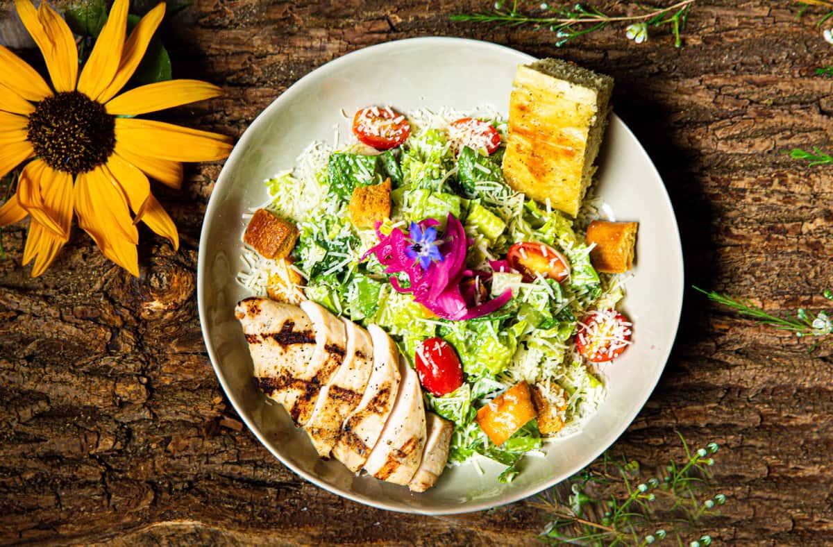 Chicken Caesar Salad Or Wrap*