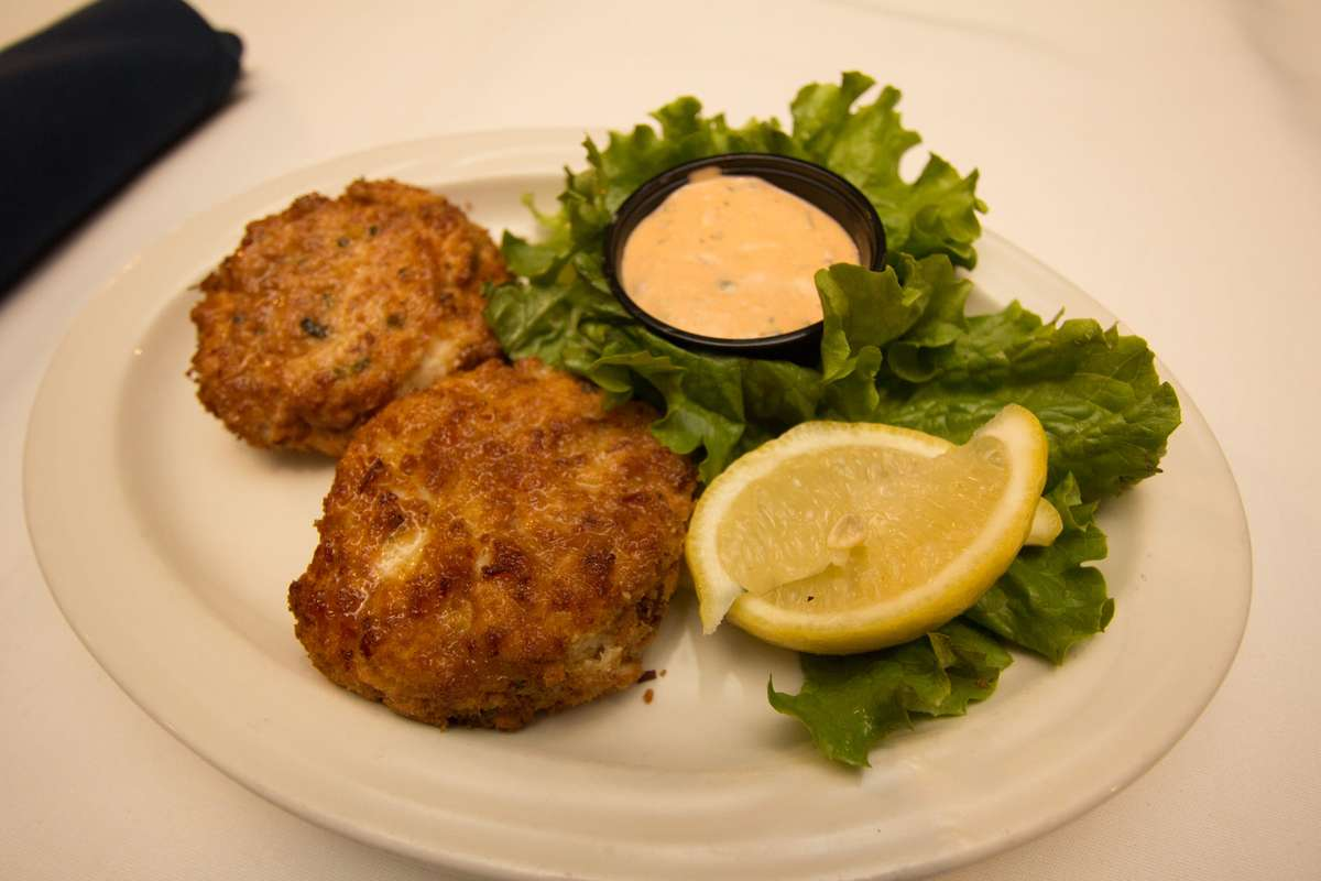 Homemade Seafood Cakes Appetizer