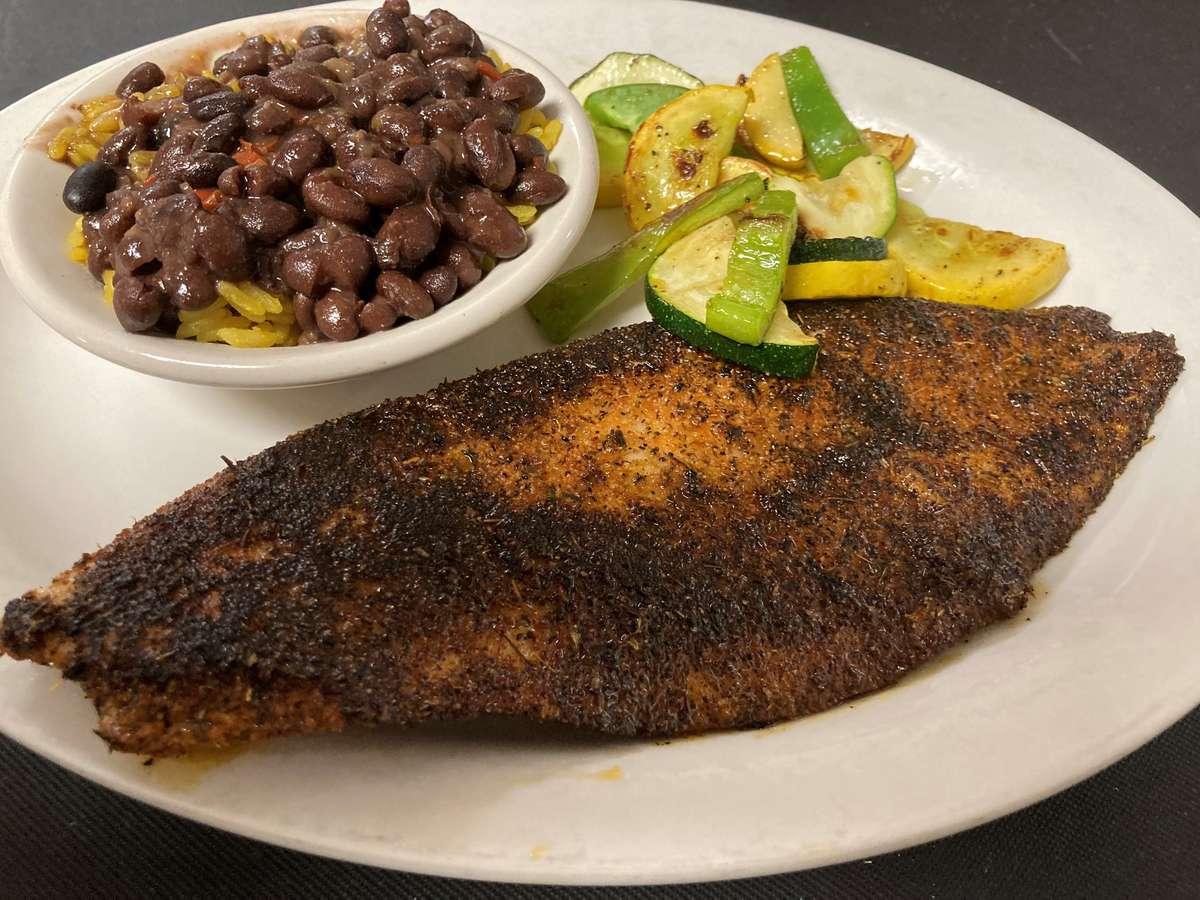 Matanzas Redfish Dinner