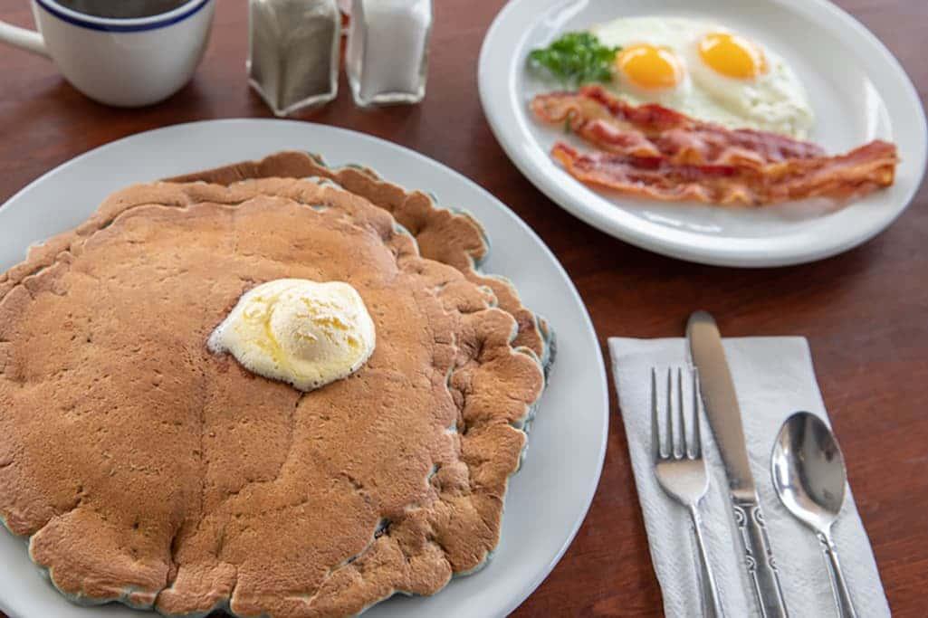 Blueberry Pancakes Combo