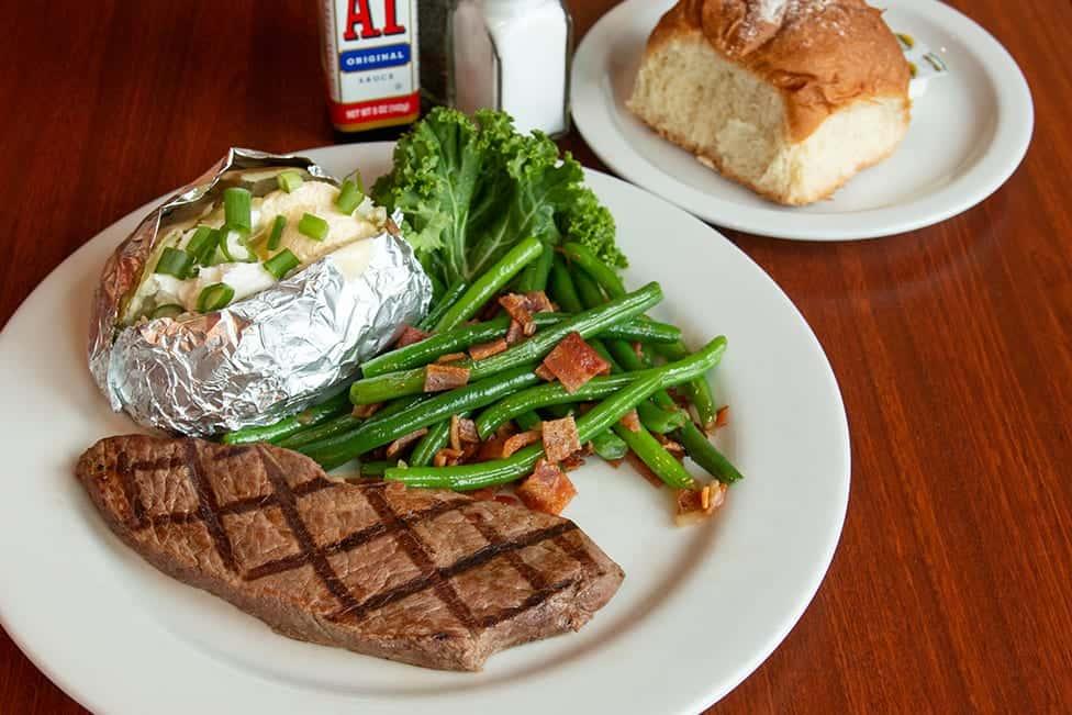 All new Steak Dinner special!