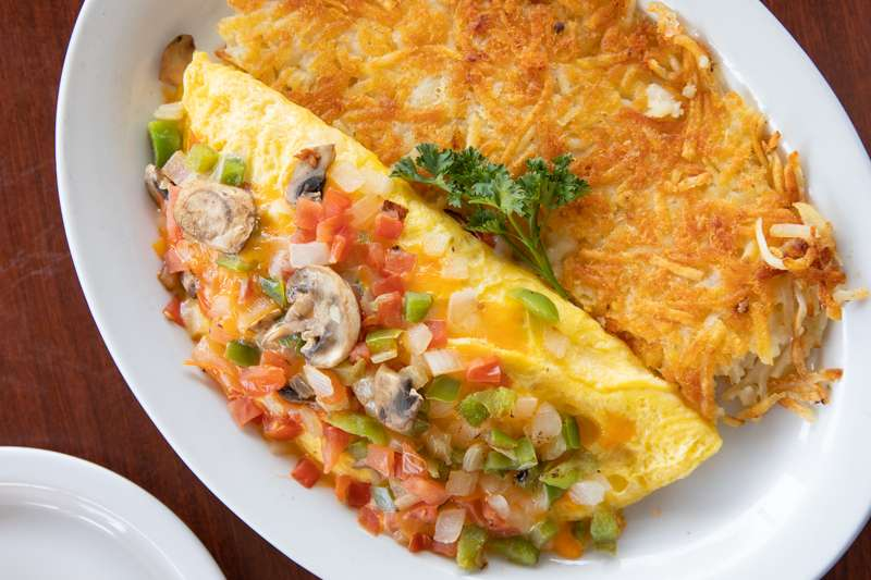 Home Grown Omelette