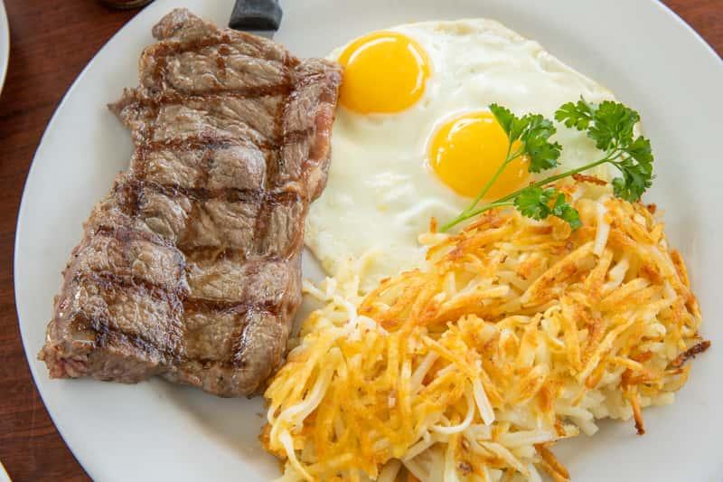 Tuesday - Steak & Eggs