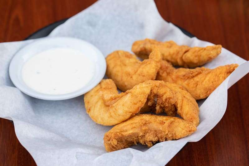 Hand Breaded Chicken Strips (6)