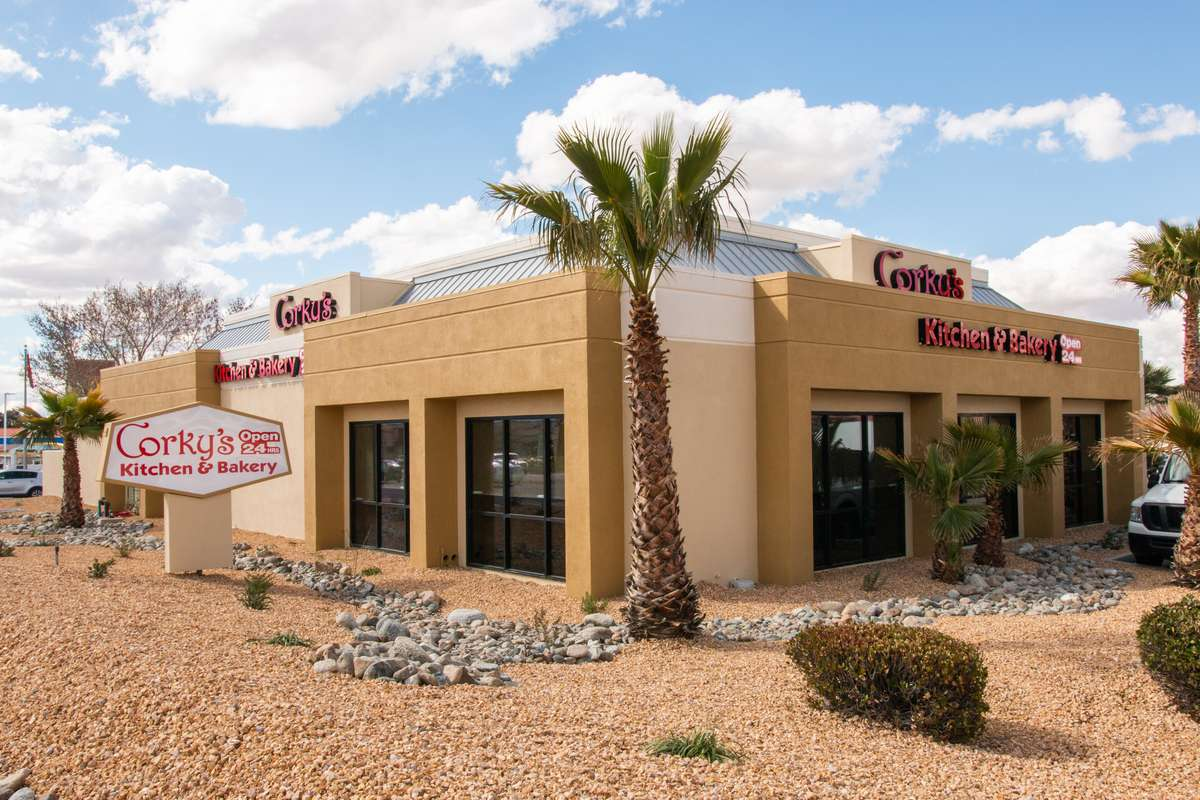 exterior of the apple valley location