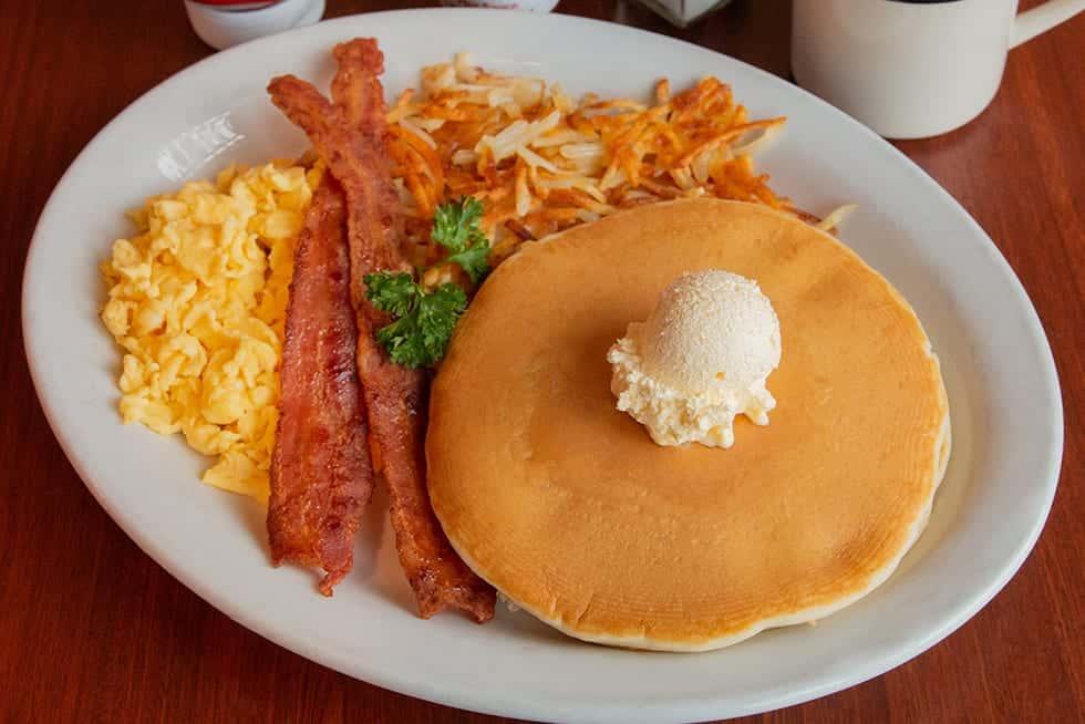 All new special! Barnyard Breakfast!