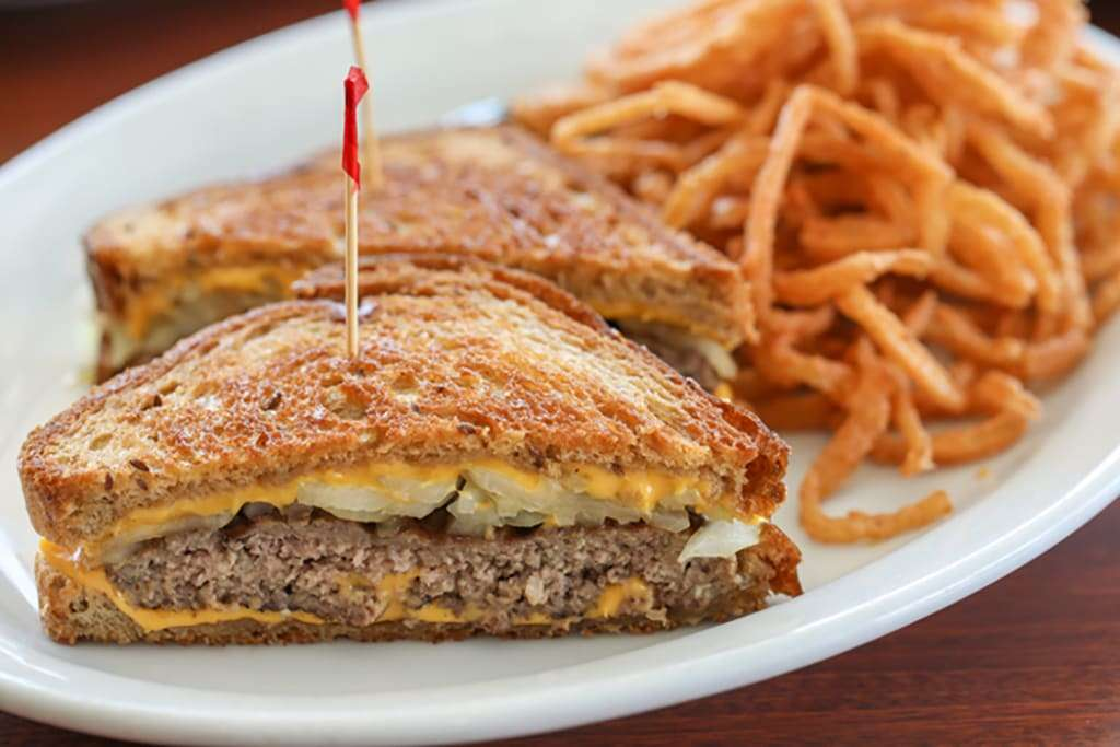 Patty Melt on Rye