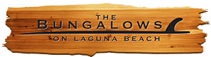 shows a sign of the Bungalows logo