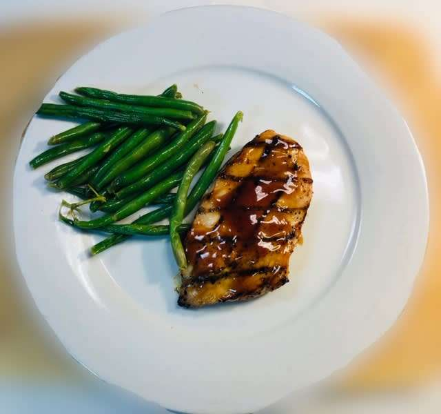 Grilled or Teriyaki Chicken Breast