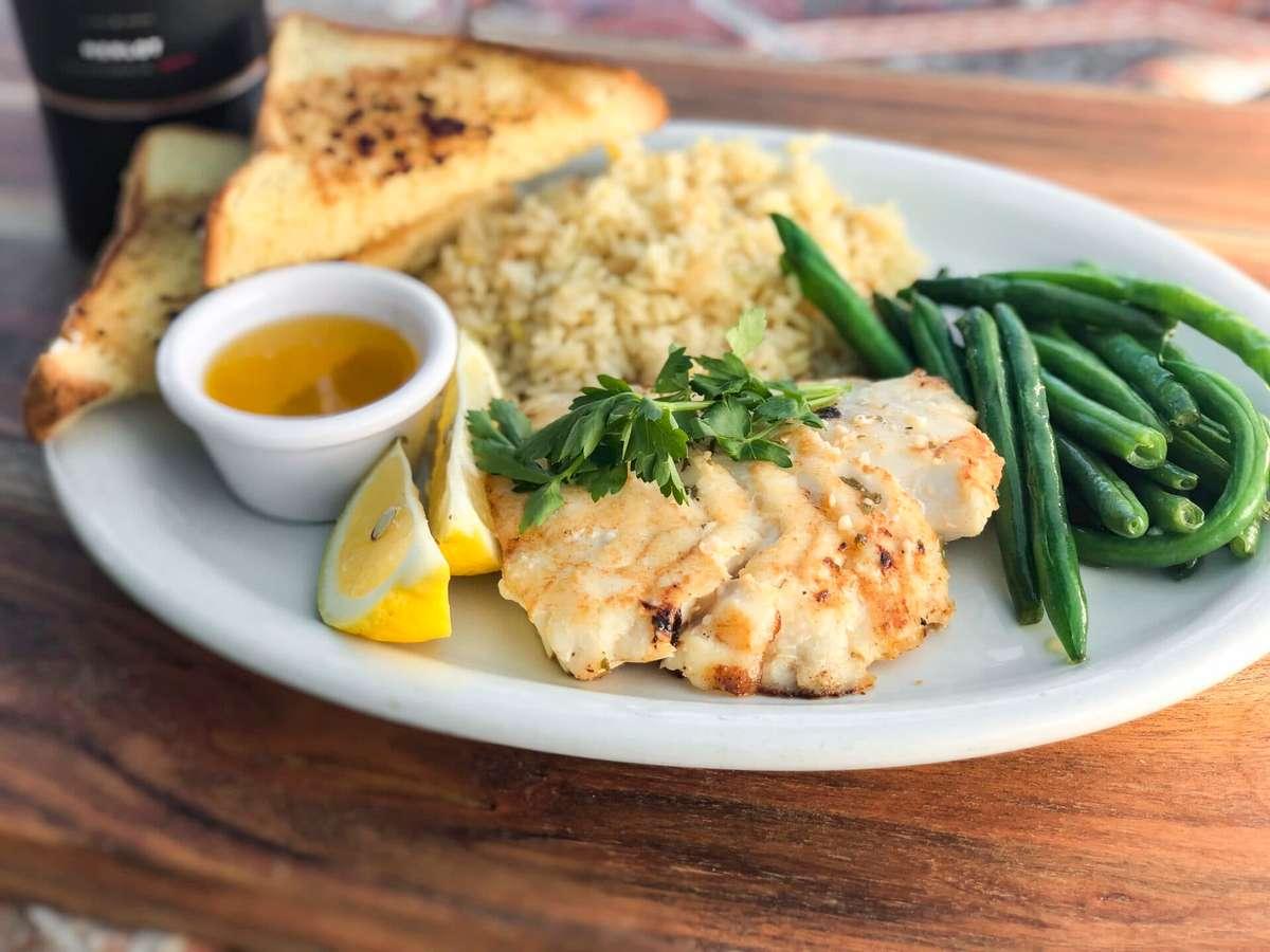 Grilled Alaskan Cod