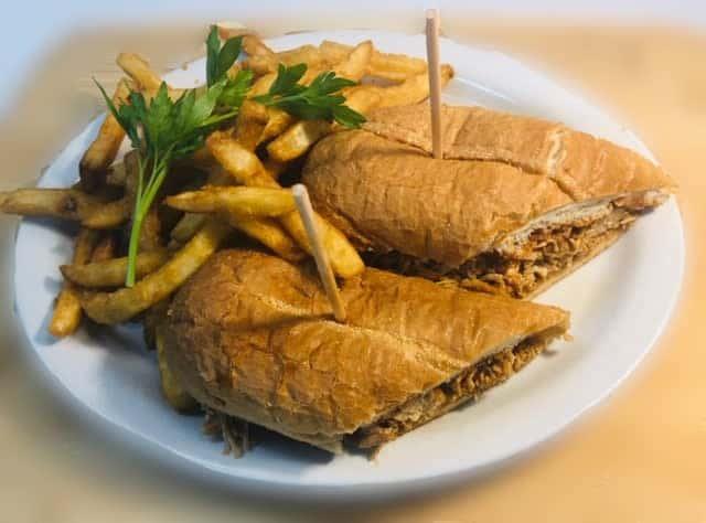 BBQ Sandwich Chicken or Beef