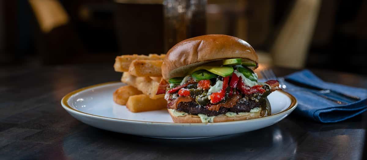 Bacon Ranchero Burger