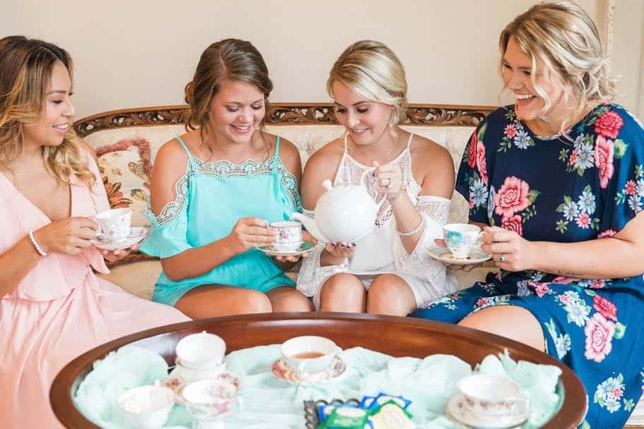 bridal party tea
