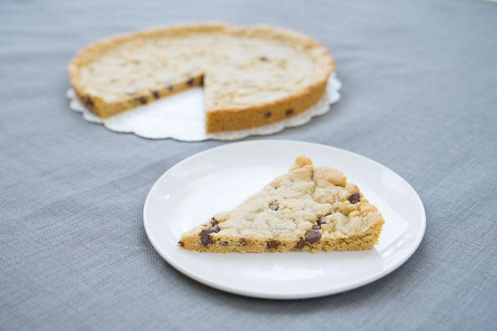 cookie cake slices
