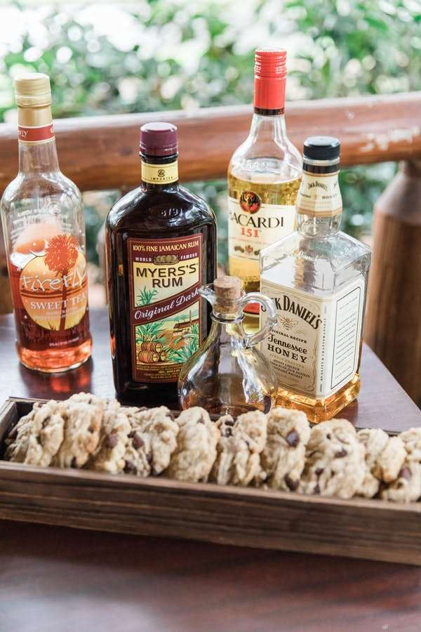 cookies and liquor