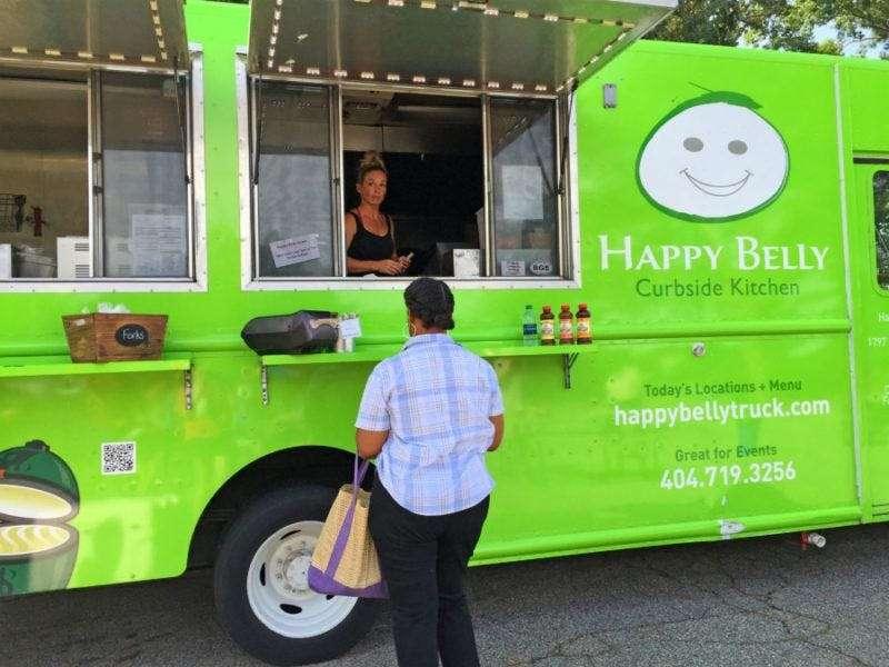 Happy Belly food truck
