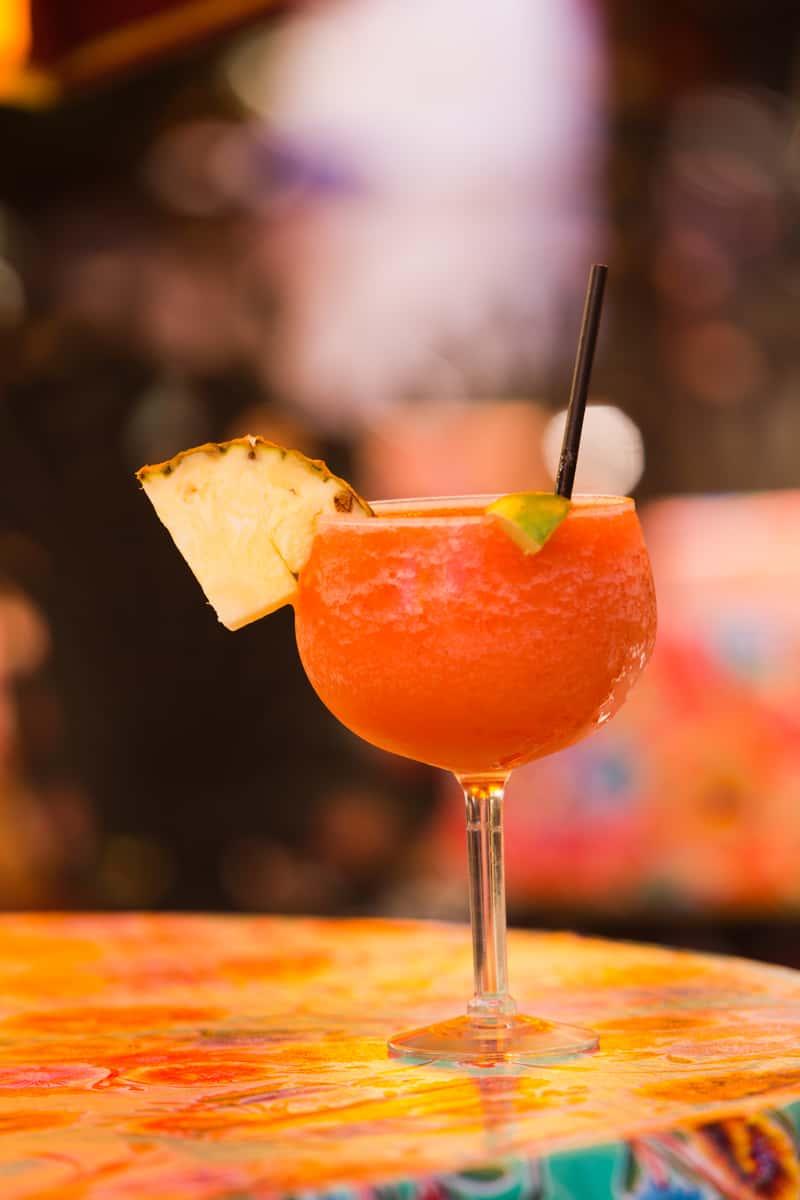 Blended Frozen Fruit Margarita