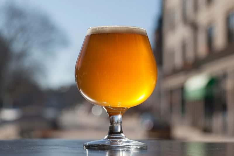 Beer in Window