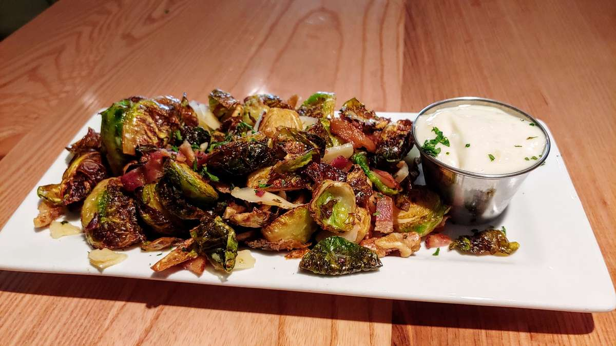 Fried Brussel Sprouts